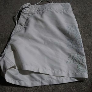 white board shorts